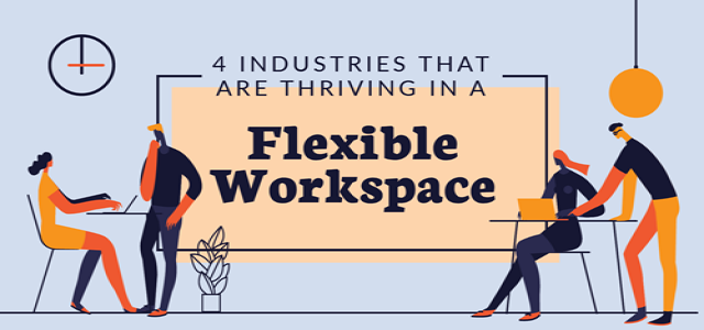 4 Industries That Are Thriving in a Flexible Workspace